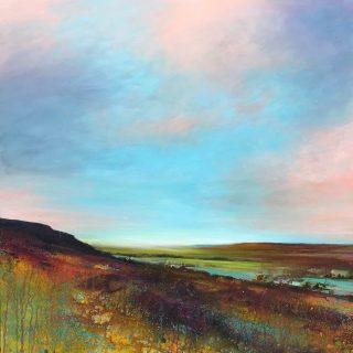 John Connolly Big Sky Stanage Edge peak district art for sale