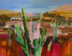 Celia Wilkinson Please Do Not Touch desert painting for sale