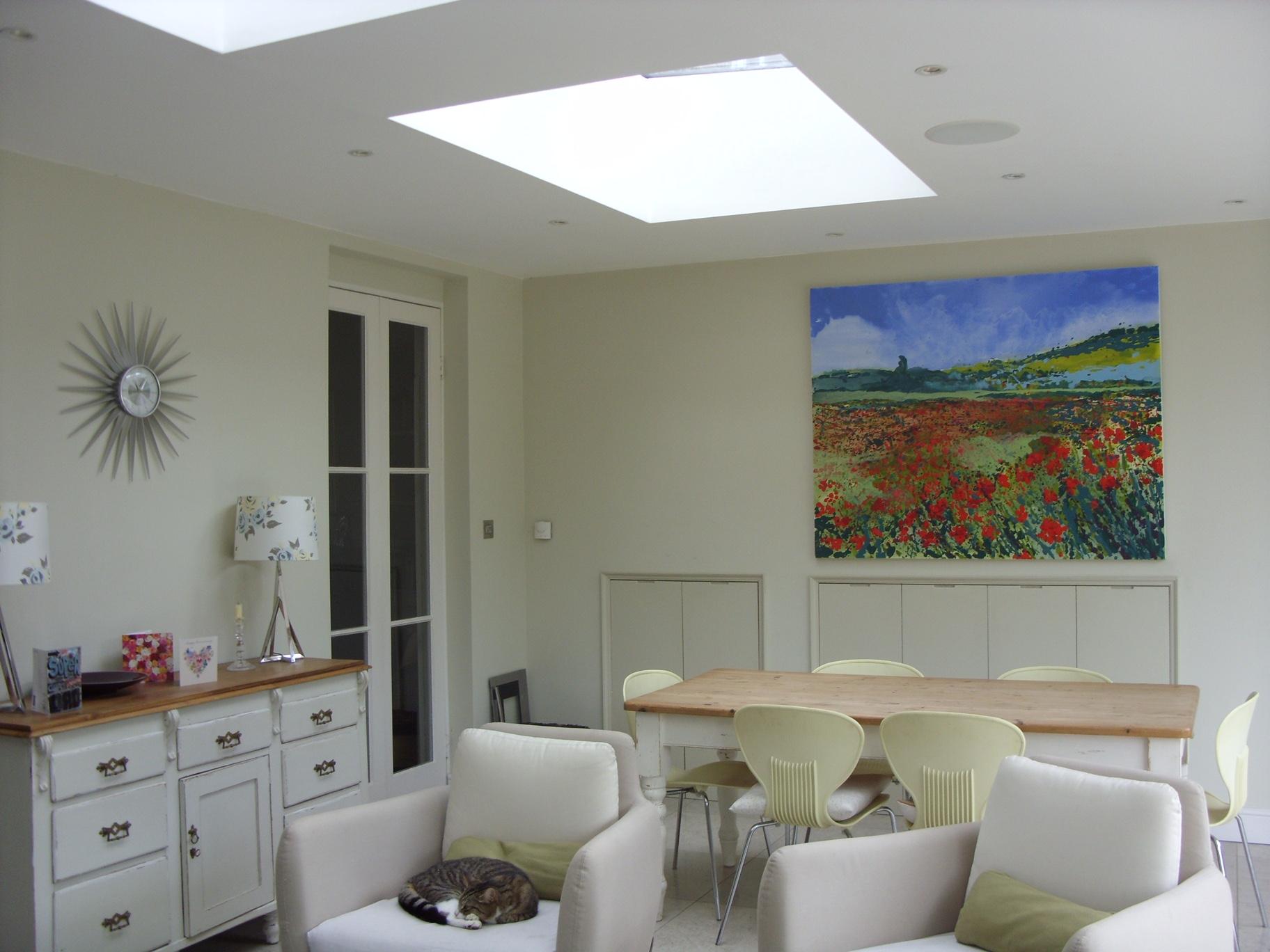 Interior shot with Poppy Vista