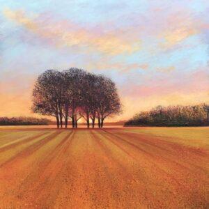Autumn Fields II John Connolly 80x80