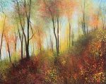 John Connolly Feels like Autumn woodland painting for sale