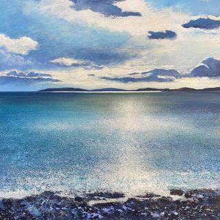 John Connolly Sea Sparkle coastal painting for sale