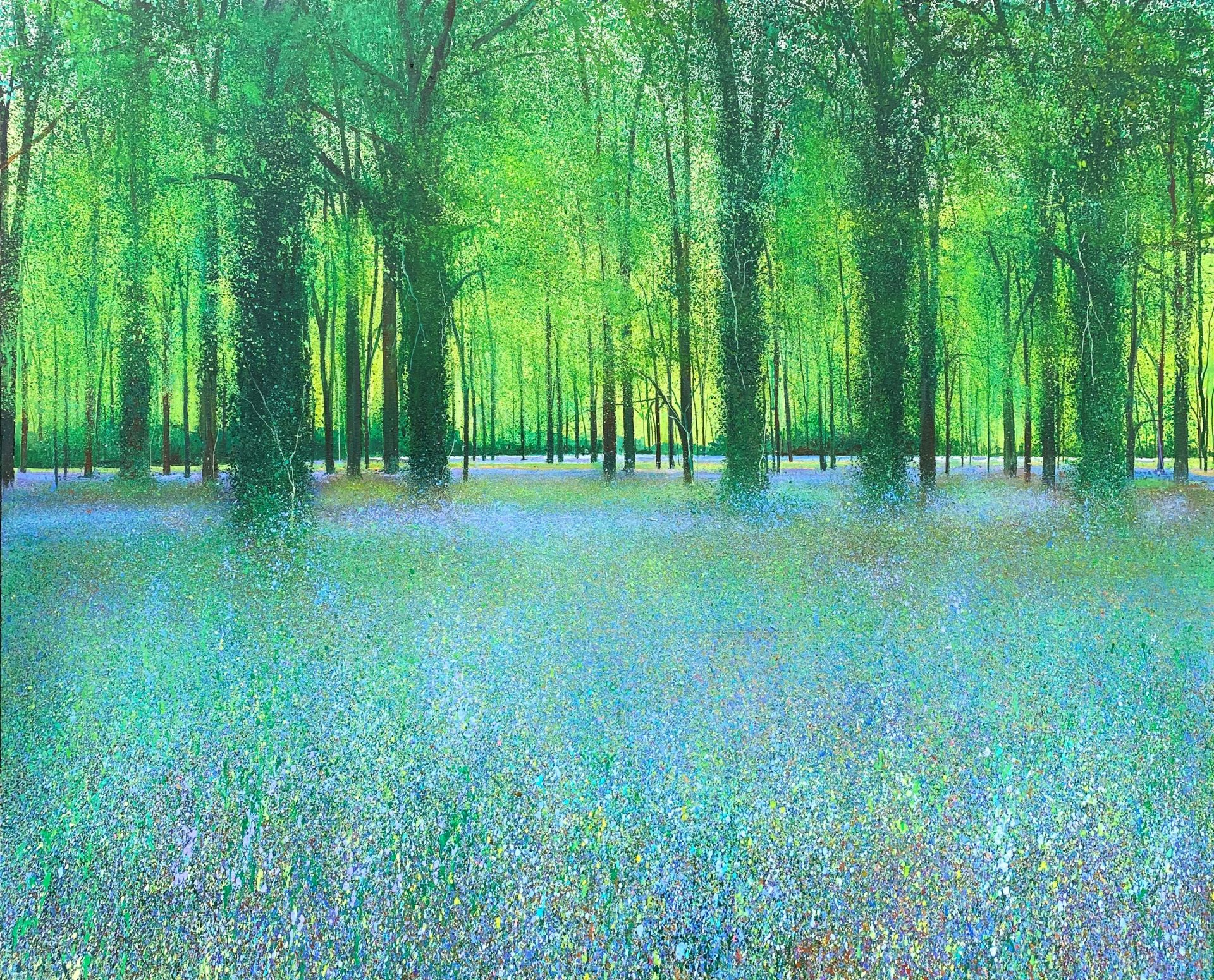 John Connolly Springtime Walk Time painting for sale