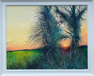 Stockly Sunset Connolly framed