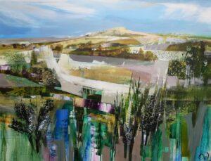 Celia Wilkinson Time To Breathe contemporary hill art for sale