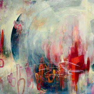 Kasia Clarke Welcoming Shadows statement artwork for sale