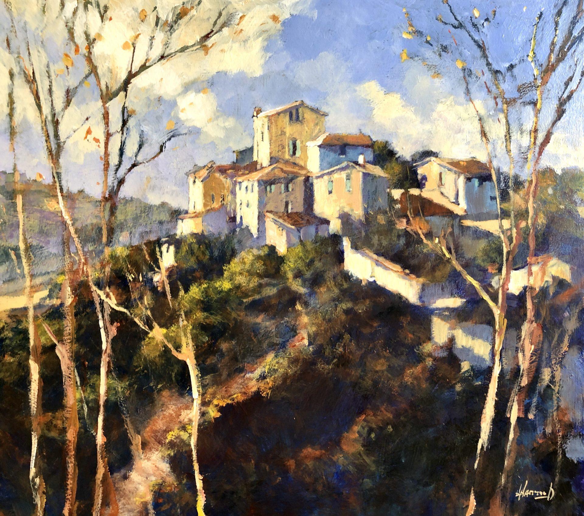 John Hammond Tuscan Skies italy landscape painting