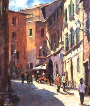 John Hammond Sunny Corner Montepulciano painting for sale