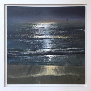Blue Light Howard Birchmore framed