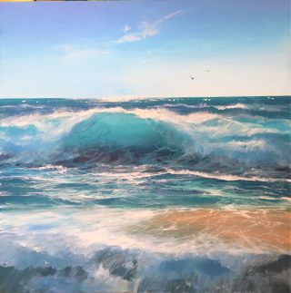 Howard Birchmore Into The Blue seascape painting for sale