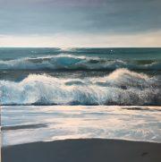 Wild Seas Howard Birchmore 100x100cm
