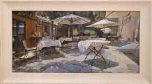 Andrew Hird 'Bar Dei Limoni, Suvera'