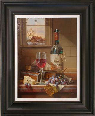 Teau Beychevod Grand Vin Zoltan Prenier framed