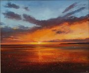 John Connolly Compton Bay Isle of Wight Painting