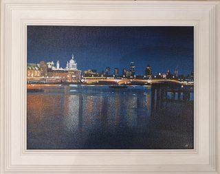 The Thames John Connolly framed