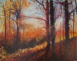John Connolly Every Leaf Speaks Bliss to Me painting for sale