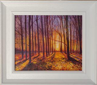 Sunset John Connolly framed