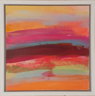 Hot Sands Jane Wachman framed