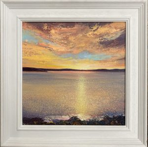 6.20am TO ST MAWES framed