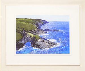 Cornish Coast Richard Thorn framed