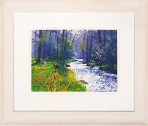 Hazy River Richard Thorn framed