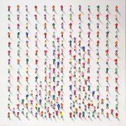 Juan Aliaga Patterns figurative pop art painting