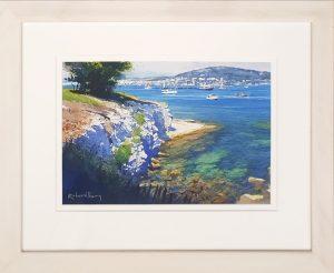 Juan Les Pins Richard Thorn framed 1