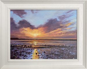 Morecambe Bay framed John Connolly