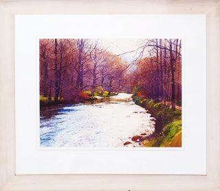 Peaceful Afternoon Richard Thorn framed