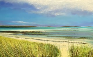 John Connolly To the Scilly Beach landscape painting for sale