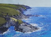 Richard Thorn Cornish Coast watercolour painting