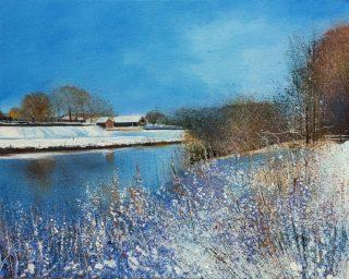 John Connolly Minus 14 Degrees winter landscape art for sale
