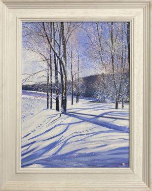 Snow Shadows framed John Connolly