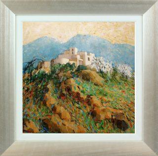 Hazel Barker Cueva Morale Almeria framed