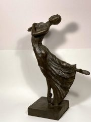Malcolm West Juliets Solo feminine dancer sculpture for sale
