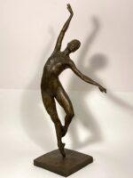 Malcolm West Natashas Solo graceful ballet sculpture for sale