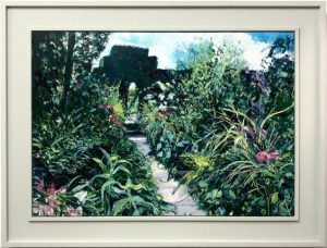 Ian Mowforth Dixter Dreaming framed