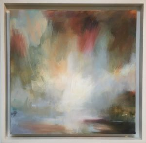 Henrietta Stuart Shimmering Morning Light framed