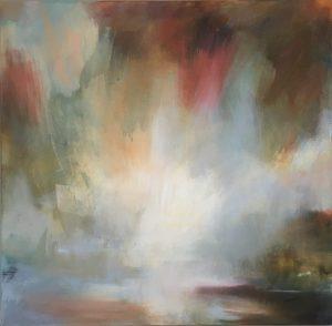 Henrietta Stuart Shimmering Morning Light shimmering abstract art