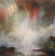 Henrietta Stuart Shimmering Morning Light abstract art for sale
