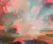 Henrietta Stuart Westward abstract pink landscape