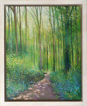 John Connolly Bradgate Woods framed