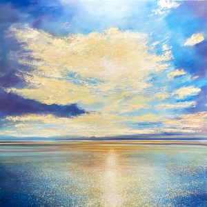 John Connolly Out To Sea large seascape painting