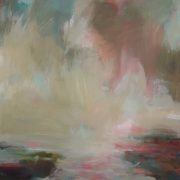 Henrietta Stuart Joyful Spring abstract sky landscape