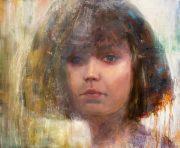 Julie Cross Jes subtle abstract portrait