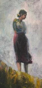 Julie Cross Air figurative landscape painting