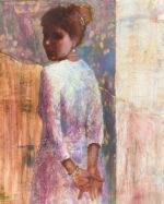 Julie Cross Back Whistler impressionist figure painting