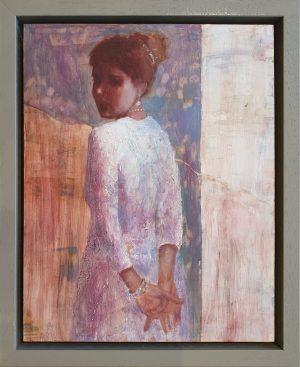 Julie Cross Back Whistler framed