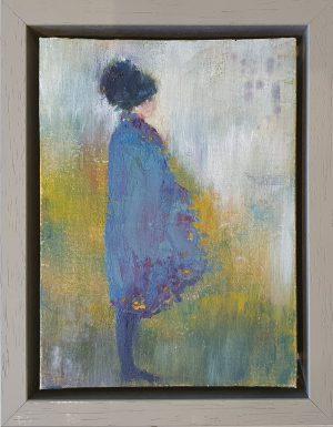 Julie Cross Cape framed