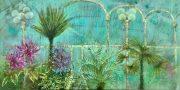 Emma Forrester Botanica botanical gardens painting
